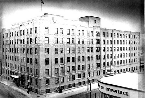 1923 – Medical Arts Building, Graham Ave., Winnipeg