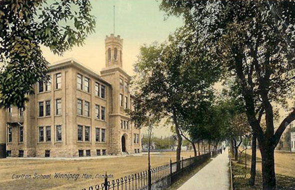 1903 – Carlton School, Graham Avenue, Winnipeg