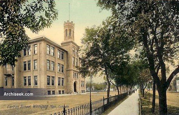 1903 – Carlton School, Graham Avenue, Winnipeg