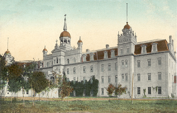 1881 – Université de Saint-Boniface, Winnipeg