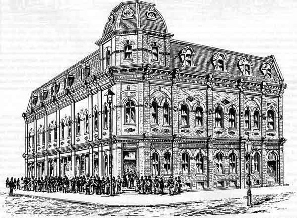 1883 – Princess Opera House, Winnipeg