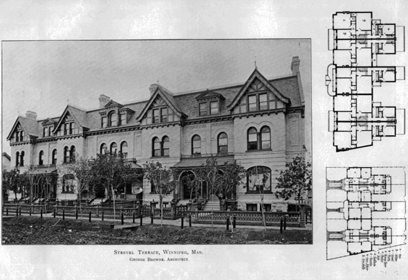 1890 &#8211; Strevel Terrace, Winnipeg