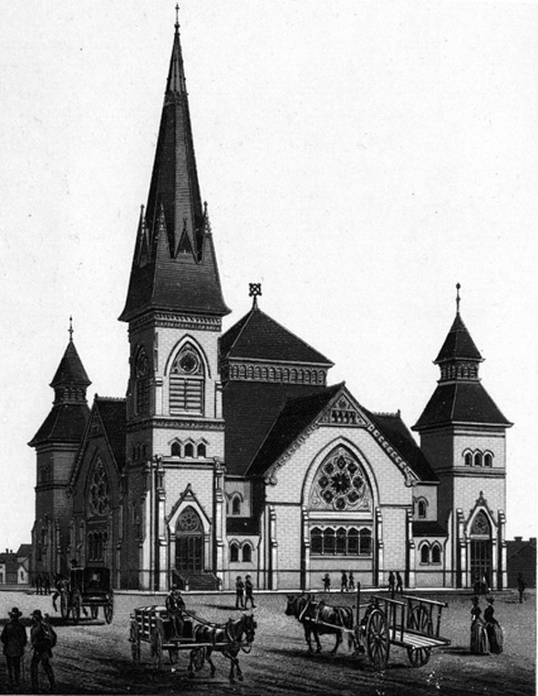 1884 – Knox Presbyterian Church, Winnipeg, Manitoba