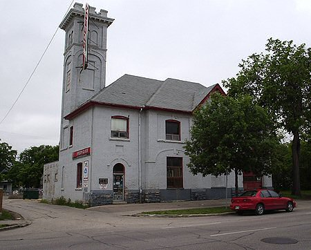 1904 &#8211; Firehall No.5, Sherbrook St., Winnipeg, Manitoba