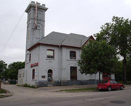 1904 – Firehall No.5, Sherbrook St., Winnipeg, Manitoba