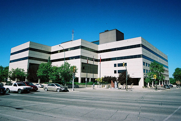 1978 – RCMP Headquarters, Winnipeg, Manitoba