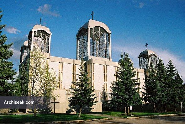 1963 – St. Joseph Ukrainian Catholic Church, Winnipeg, Manitoba