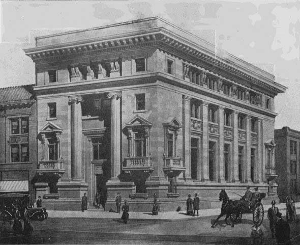 1907 – Imperial Bank, Winnipeg, Manitoba