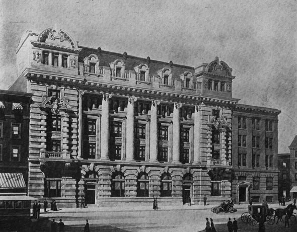 1904 – New Post Office, Winnipeg, Manitoba