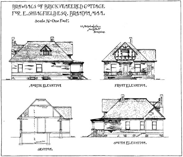 1904 &#8211; Cottage near Brandon, Manitoba