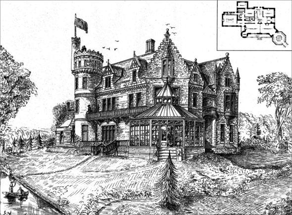 1890 &#8211; A.G.B. Bannatyne Residence, Armstrong&#8217;s Point, Winnipeg, Manitoba