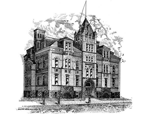 1896 &#8211; Dufferin School, Winnipeg, Manitoba