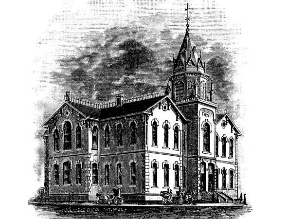 1883 – Central School No. 1, Winnipeg, Manitoba