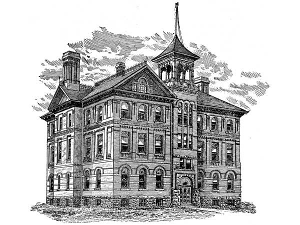 1895 &#8211; Mulvey School, Winnipeg, Manitoba