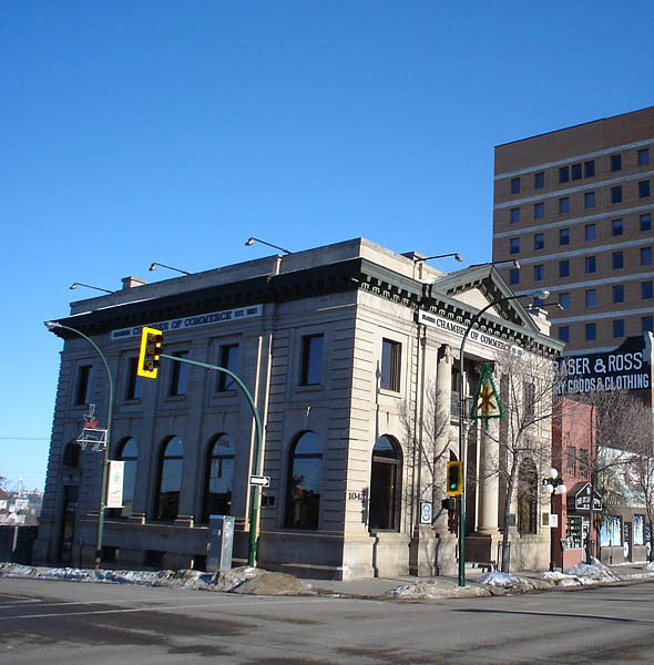 1907 – Merchants Bank Building, Brandon, Manitoba