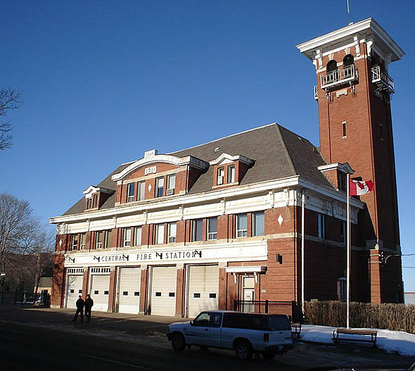 1911 &#8211; Central Fire Station #1, Brandon, Manitoba