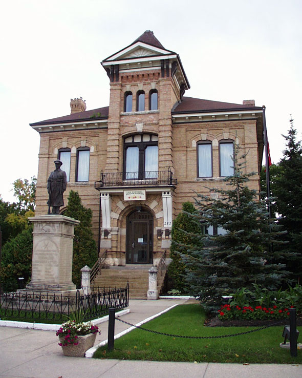 1884 &#8211; Beautiful Plains County Court Building, Neepawa, Manitoba