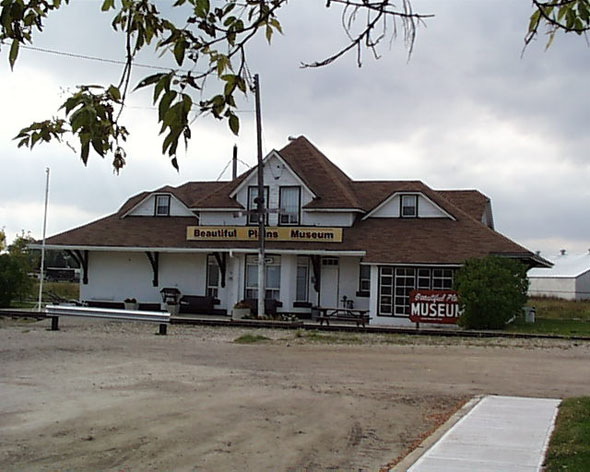 1902 &#8211; Former Railway Station, Neepawa, Manitoba