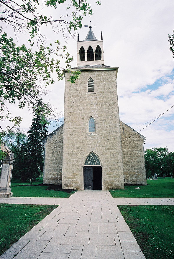 1849 &#8211; St. Andrew&#8217;s Anglican Church, Manitoba