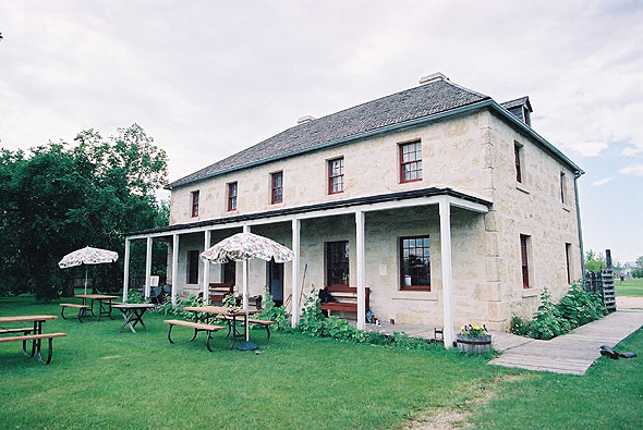 1855 &#8211; St. Andrew&#8217;s Rectory, St. Andrews, Manitoba