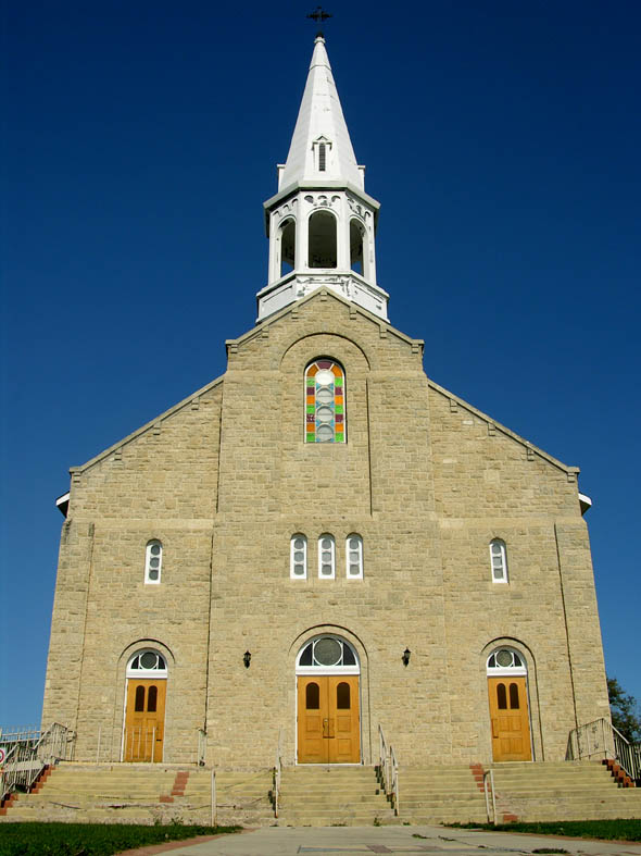1877 – Church, St. Jean Baptiste, Manitoba