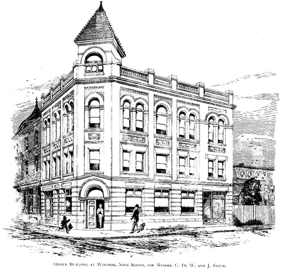 1899 &#8211; Office Building, Windsor, Nova Scotia