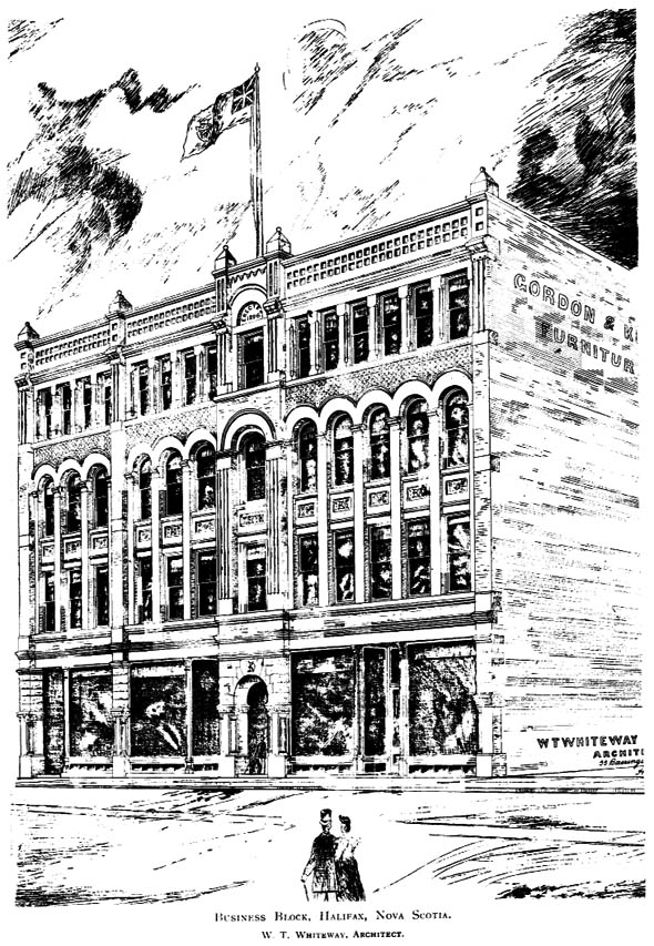 1897 &#8211; Business Block, Halifax, Nova Scotia