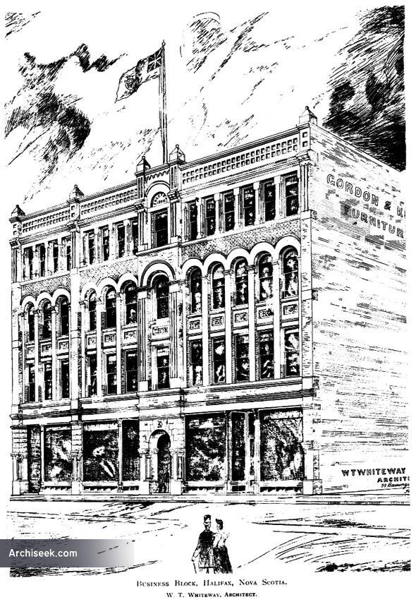 1897 – Business Block, Halifax, Nova Scotia