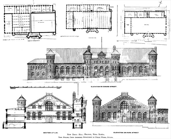 1897 – New Drill Hall, Halifax, Nova Scotia