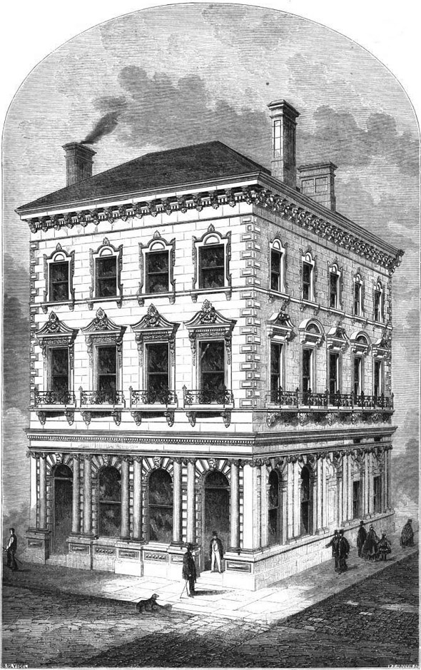 1863 &#8211; Union Bank, Halifax, Nova Scotia, Canada