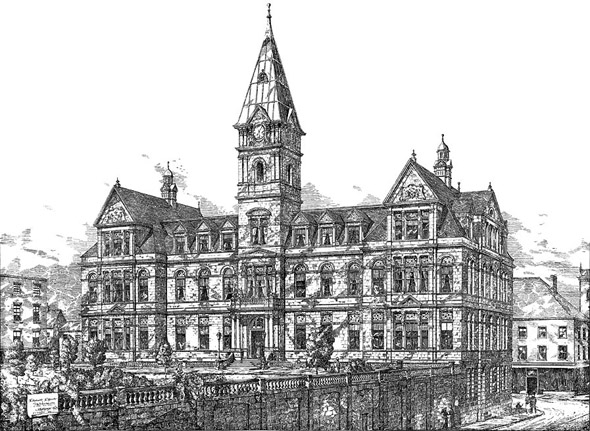 1888 – Halifax City Hall, Nova Scotia, Canada
