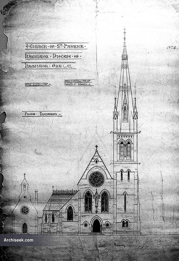 1877 – St Patrick's Church, Hamilton, Ontario