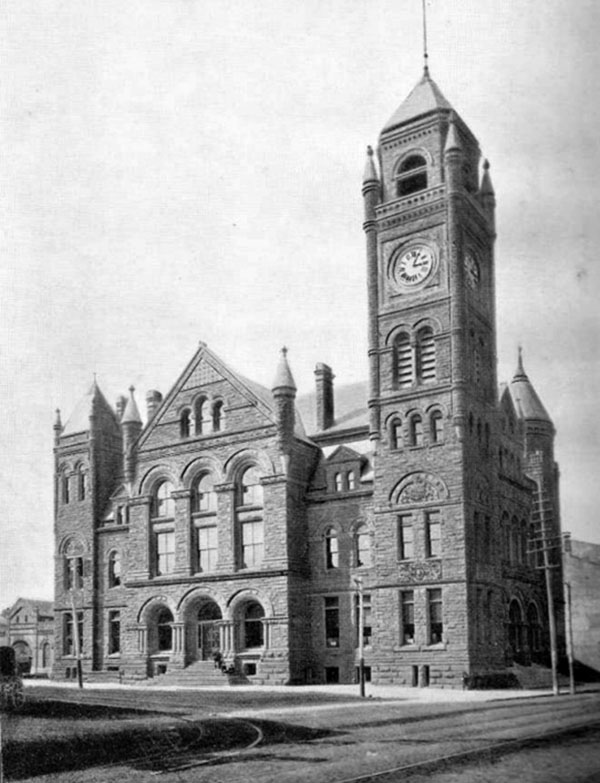 1890 – City Hall, Hamilton, Ontario