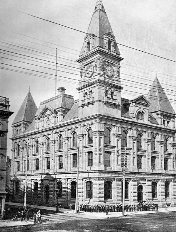 1893 – Post Office, Hamilton, Ontario