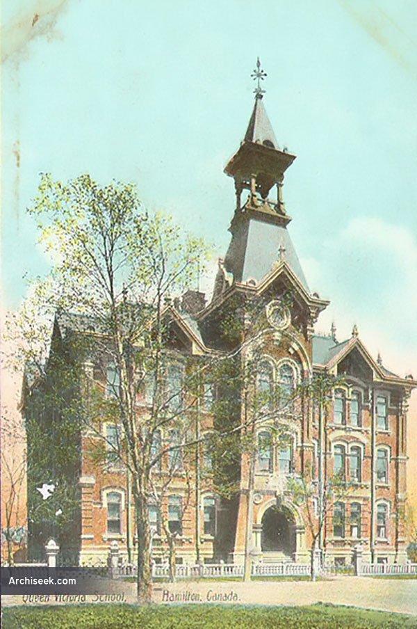 1906 – Queen Victoria School, Hamilton, Ontario