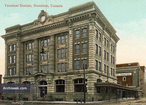 1907 – Terminal Station, Hamilton, Ontario