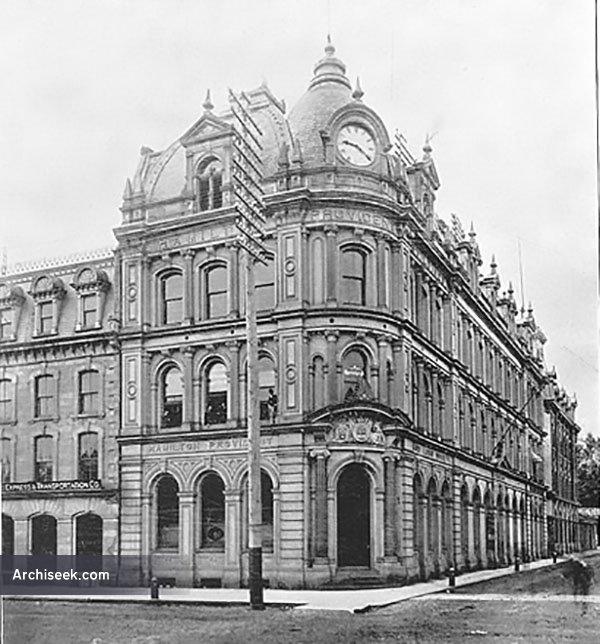 1881 – Hamilton Provident & Loan Society, Hamilton, Ontario