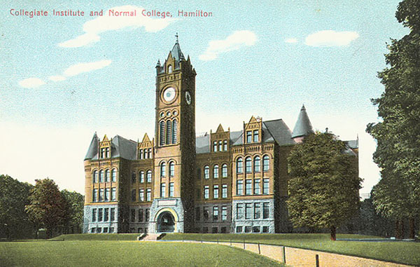 1896 – Collegiate Institute & Normal College, Hamilton, Ontario