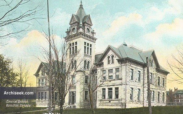 1853 – Central School, Hamilton, Ontario