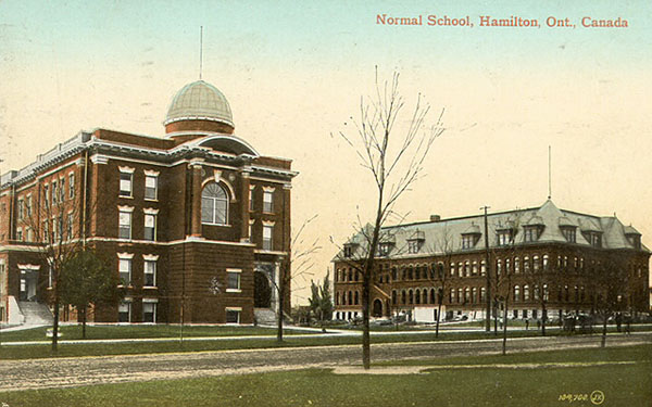 1906 – Normal School, Hamilton, Ontario