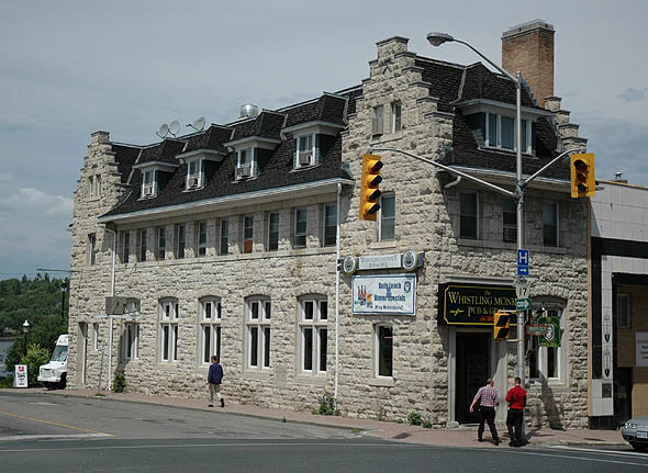 1910 &#8211; Whistling Monkey Bar (Former Imperial Bank of Canada), Kenora, Ontario