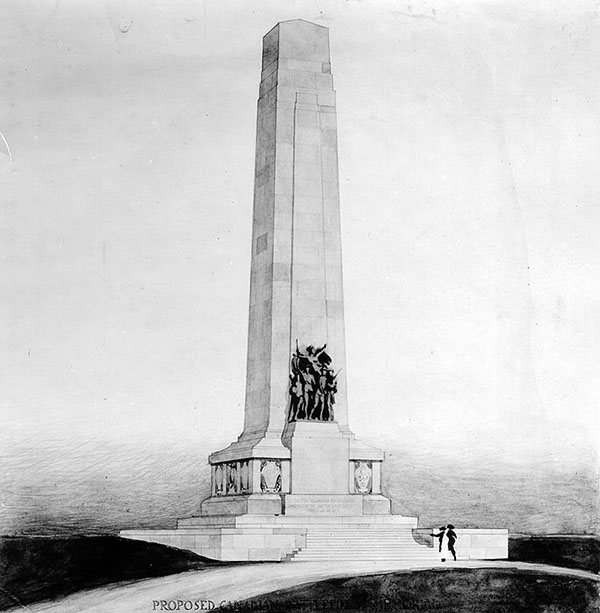 1925 – Designs for War Memorials, Ottawa, Ontario