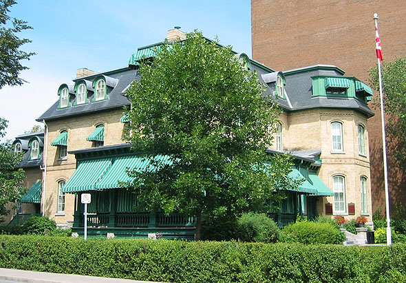 1878 &#8211; Laurier House, Ottawa, Ontario