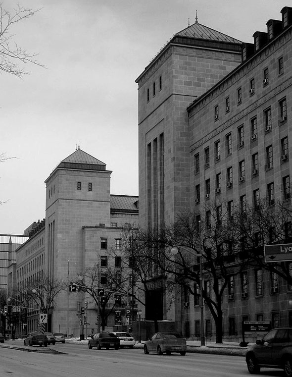 1962 – Memorial Buildings, Ottawa, Ontario