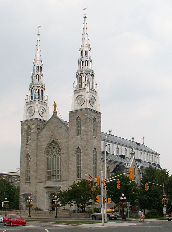 1885 &#8211; Notre Dame Cathedral, Ottawa, Ontario
