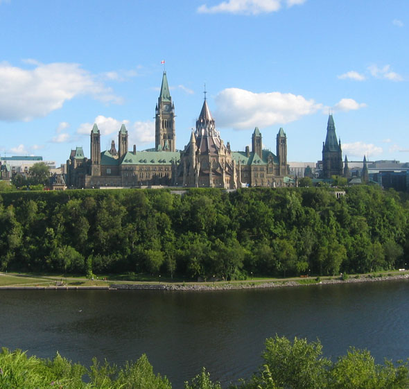 1927 – Houses of Parliament, Ottawa, Ontario