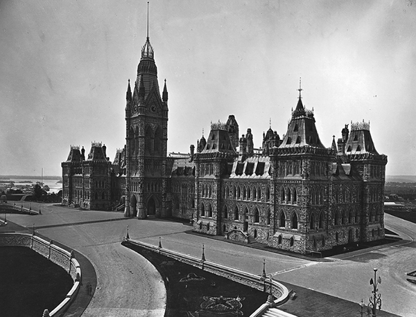 1866 – Houses of Parliament, Ottawa, Ontario