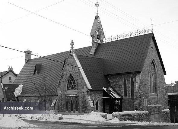 1877 – St Alban's Anglican Church, Ottawa, Ontario