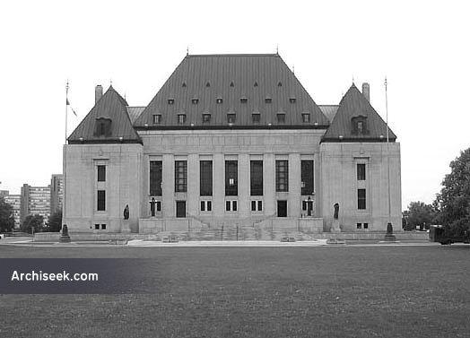 1940 – Supreme Court of Canada, Ottawa, Ontario