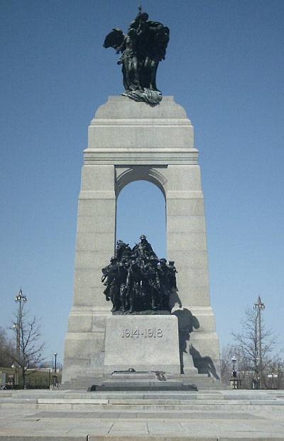 1939 – National War Memorial, Ottawa, Ontario